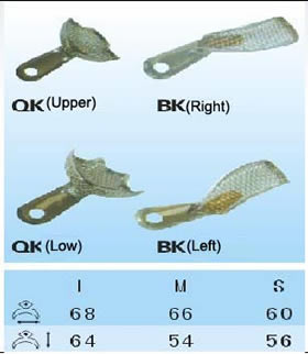 Electric-plated Impression Trays(QK-BK)