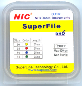 NiTi Engine Use Superfiles-DH6