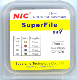 NiTi Engine Use Superfiles-DH4