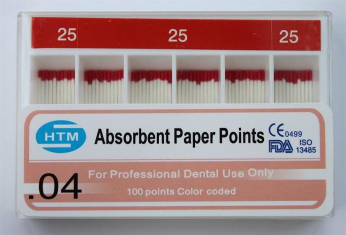PP-400 (0.04 Taper )Greater Paper Points 25#