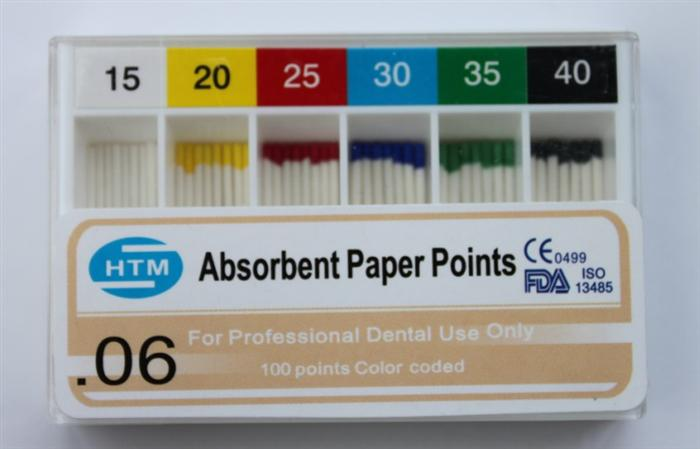 PP-600( 0.06 Taper )Paper Points Greater Taper 15-40#