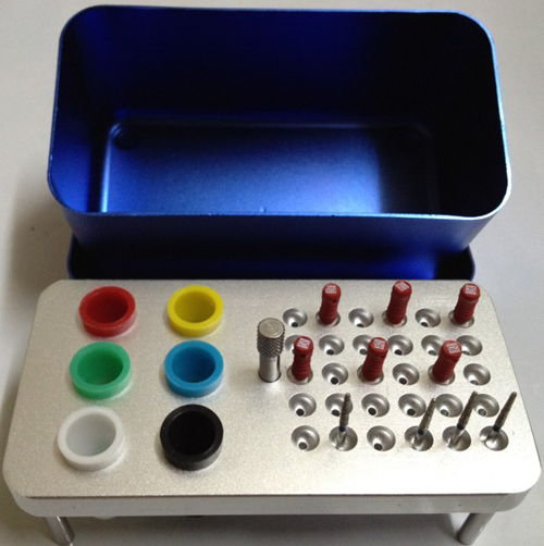 Endo+GP points + Burs Sterilizing Box (Small)